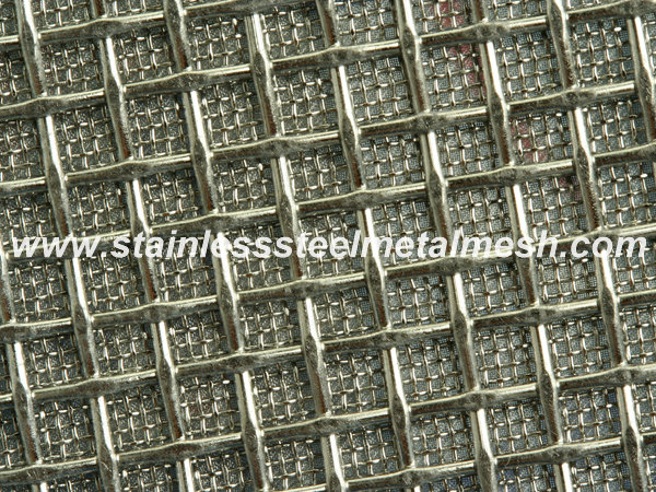Sintered square woven mesh