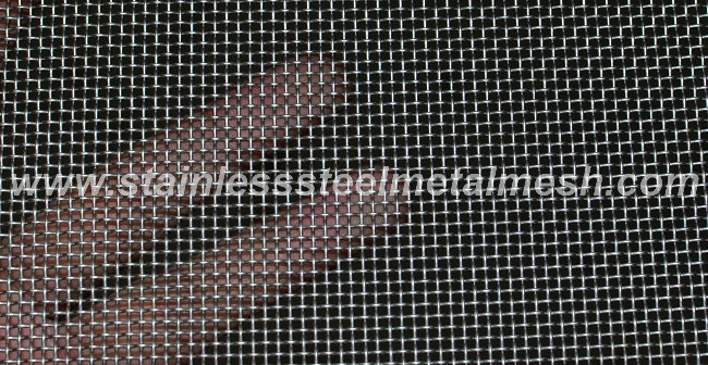 Stainless Steel Crimped Mesh For Microphone Cover