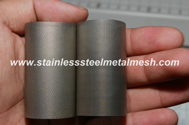 Filter Cylinder Made of Mirco Hole Expanded Metal Mesh