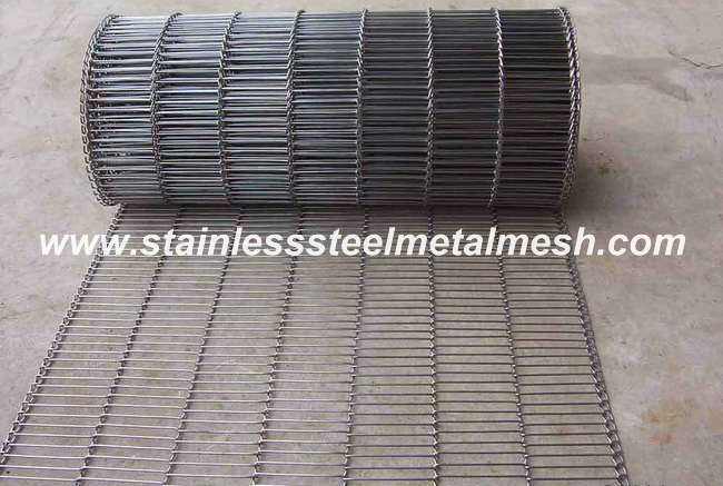 Stainless Steel Flat Flex Wire Mesh Conveyor Belt