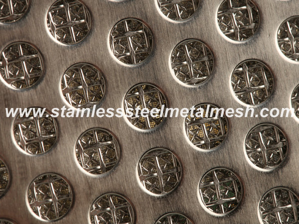 Sintered Wire Mesh with Perforated Metal