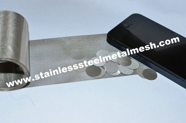 Calendered Stainless Steel Mesh Used for Earphone
