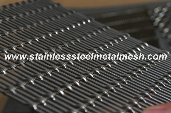 Decorative Stainless Steel Crimped Wire Mesh