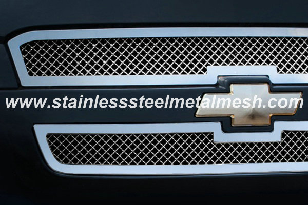 Car Front Grill Mesh(crimped mesh)